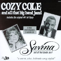 Alan Hartwell Big Band Featuring Cozy Cole and Savina | Big Band Jazz and Gentle Jazz Vocals