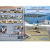 Cynthia Daddona | A Greek Islands Destination Cooking Class (Dvd), in Santorini, Greece