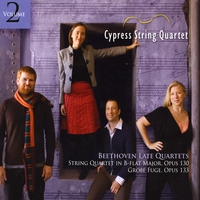 Cypress String Quartet | Beethoven Late Quartets, Vol. 2