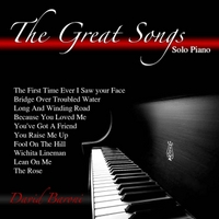 David Baroni | The Great Songs: Solo Piano