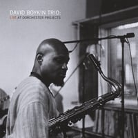David Boykin | David Boykin Trio: Live At Dorchester Projects