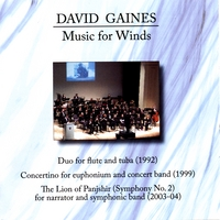 David Gaines | Music For Winds