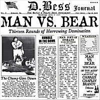 D. Bess | Man vs. Bear