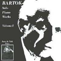June de Toth | Bartok Solo Piano Works, Volume 1