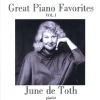 June de Toth | Great Piano Favorites, Volume 1