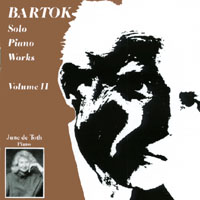 June de Toth | Bartok Solo Piano Works, Volume 2
