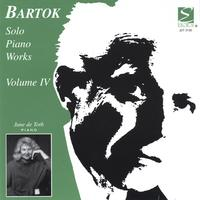 June de Toth | Bartok Solo Piano Works, Volume 4