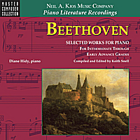 Diane Hidy & Keith Snell | Beethoven: Selected Works for Piano — for Intermediate Through Early Advanced Grades