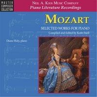 Diane Hidy & Keith Snell | Mozart: Selected Works for Piano