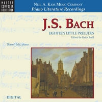 Diane Hidy | J.S. Bach — Eighteen Little Preludes
