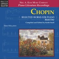 Diane Hidy & Keith Snell | Chopin: Selected Works for Piano, Book One