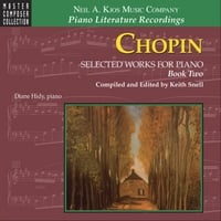 Diane Hidy | Chopin: Selected Works for Piano, Book Two