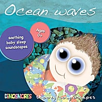 Dinosnores | Ocean Waves Baby Sleep Soundscape