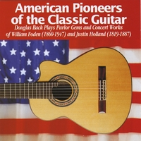 Douglas Back | American Pioneers of the Classic Guitar