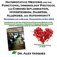 Dr Alex Vasquez | Naturopathic Medicine and the Functional Immunology Protocol for Chronic Inflammation, Hypertension, Diabetes, Allergies, and Autoimmunity (Live)