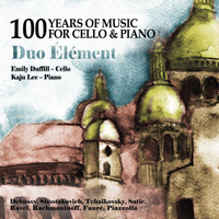 Duo Element, Emily Duffill & Kaju Lee | 100 Years of Music for Cello & Piano