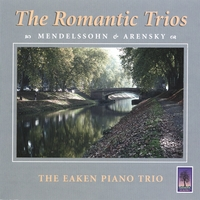 Eaken Piano Trio | The Romantic Cd