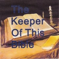 Eddie Ray Franks Jr. | The Keeper of This Bible