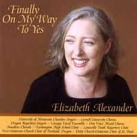 Elizabeth Alexander | Finally On My Way to Yes