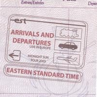 Eastern Standard Time | Arrivals and Departures