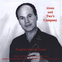Franklin Foster | Alone and Two's Company