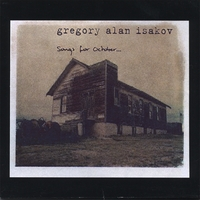 Gregory Alan Isakov | songs for October