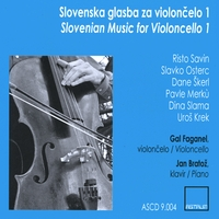 Gal Faganel | Slovenian Music for Violoncello 1