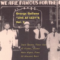 George Galiano | Live at Izzy's Vol.2