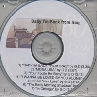 Gary Matthews | Baby I'm Back from Iraq