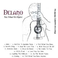 Delano | Tell What You Know