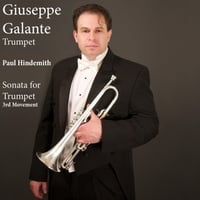 Giuseppe Galante | Paul Hindemith: Sonata for Trumpet and Piano: III. Trauermusik. Sehr Langsam