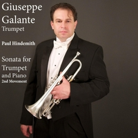 Giuseppe Galante | Paul Hindemith: Sonata for Trumpet and Piano: II. Massig Bewegt