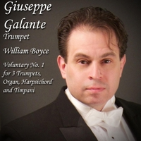 Giuseppe Galante | William Boyce: Voluntary No. 1 in D Major for 3 Trumpets, Organ, Harpsichord and Timpani