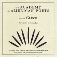 The Academy of American Poets | Louise Gluck