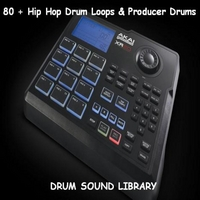 Drum Sound Library | 80 + Hip Hop Drum Loops & Producer Drums