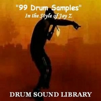 Drum Sound Library | 99 Drum Samples (In the Style Of Jay Z)
