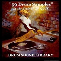 Drum Sound Library | 59 Drum Samples (In the Style of Dj Quik)
