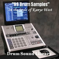 Drum Sound Library | 99 Drum Samples (In the Style of Kanye West)