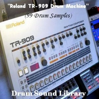 Drum Sound Library | Roland TR-909 Drum Machine (99 Drum Samples)