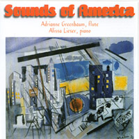 Adrianne Greenbaum | Sounds of America: FLUTE SOLO-American music for the flute