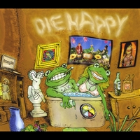 Green Sparkle Frog | Die Happy & Other Songs About Life
