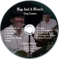 Greg Connor | Map And A Miracle