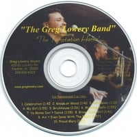 The Greg Lowery Band : Promotional CD