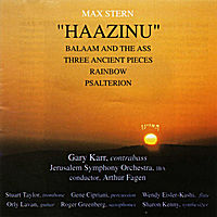 Max Stern | Haazinu: Biblical Compositions