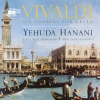 Yehuda Hanani | Vivaldi: Six Sonatas for Cello