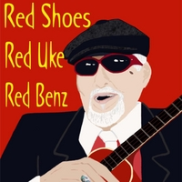 Hoku Bray | Red Shoes, Red Uke, Red Benz