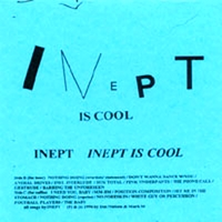 Inept | Inept Is Cool