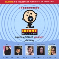 Infant Records Various Artist | Infant Records Compilation Cd Vol. 1