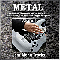 Jam Along Tracks | Metal, Vol. 1: Heavy Metal Style Backing Jam Track Play Alongs
