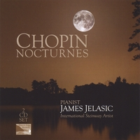 James Jelasic | Chopin Nocturnes - 2 CD Set